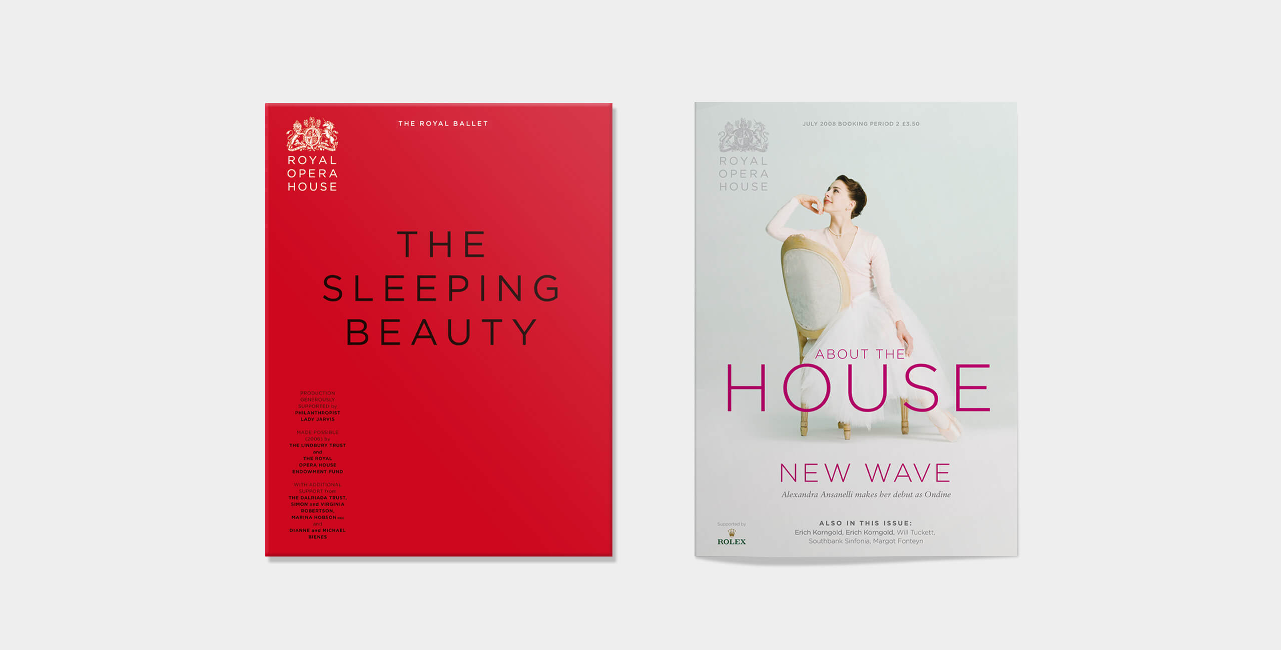 Royal Opera House covers